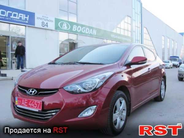 Hyundai Elantra, 2012 год, 1 291 268 руб.