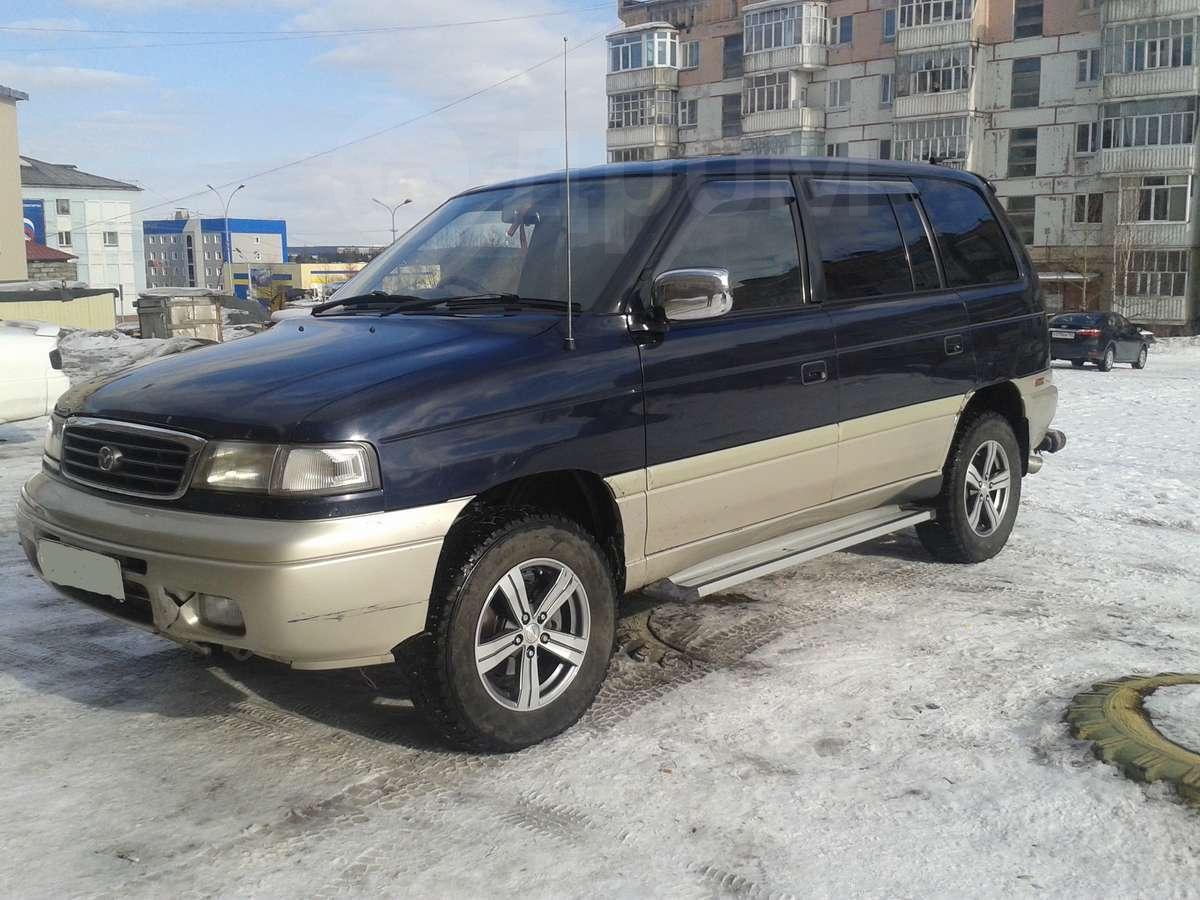 mazda mpv с 1995г. по 1999г.в. дизеля фото