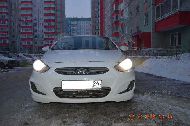 Hyundai Solaris, 2011 год, 444 000 руб.