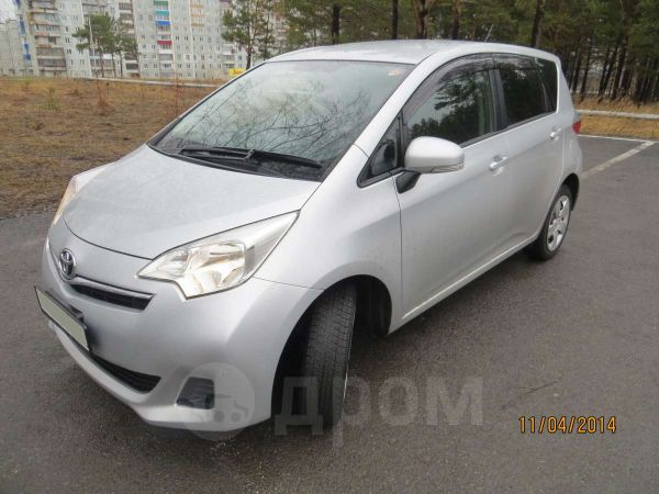 Toyota Ractis, 2011 год, 520 000 руб.
