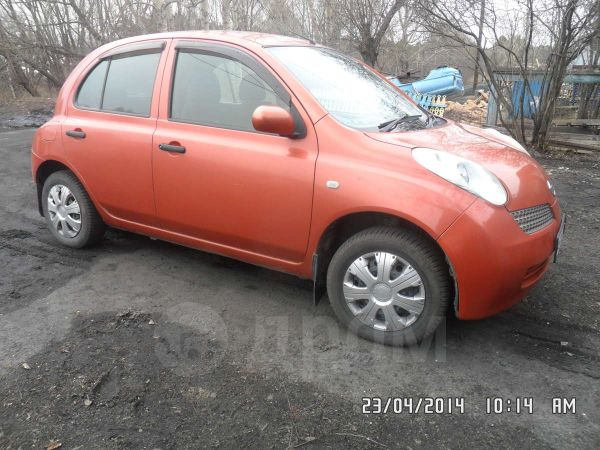 Nissan March, 2002 год, 201 000 руб.