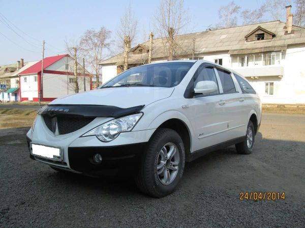 SsangYong Actyon Sports, 2008 год, 610 000 руб.