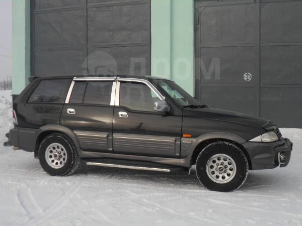 SsangYong Musso, 2002 год, 450 000 руб.