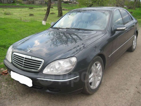 Mercedes-Benz S-Class, 2000 год, 499 000 руб.