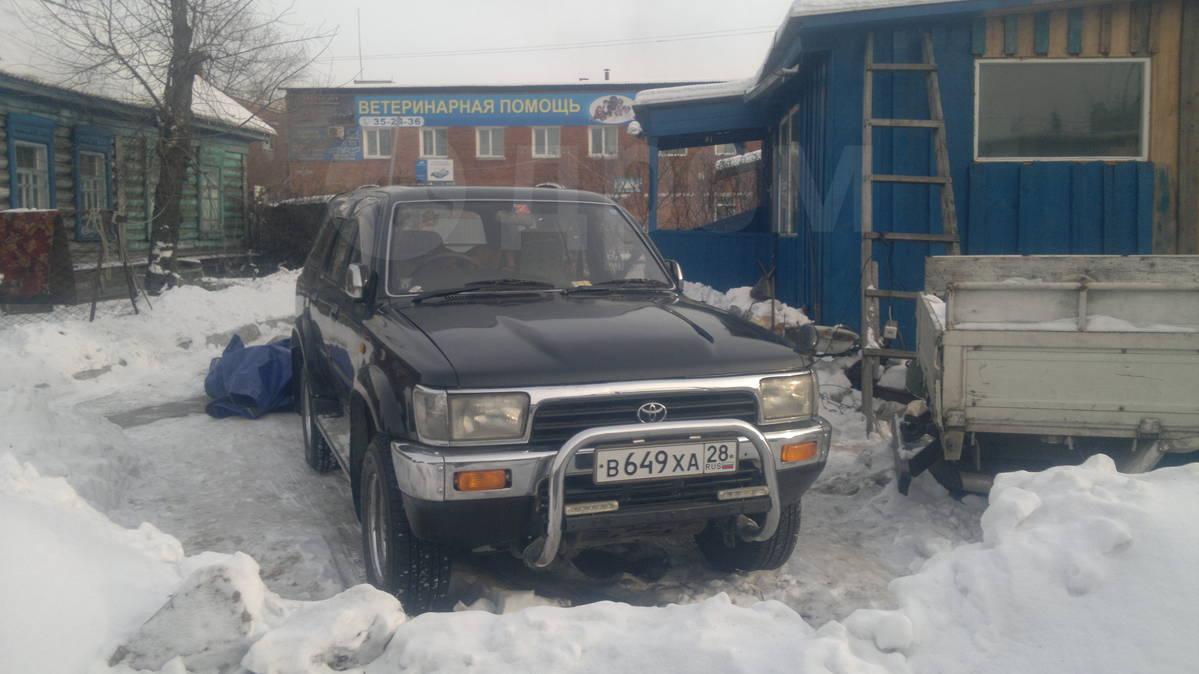 продажа тойота хайлюкс в россии с пробегом