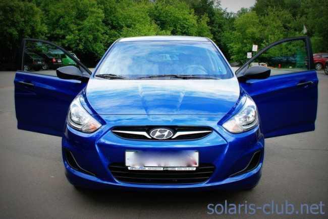 Hyundai Solaris, 2011 год, 520 000 руб.