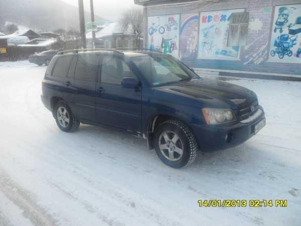 Toyota Highlander, 2003 год, 1 000 000 руб.