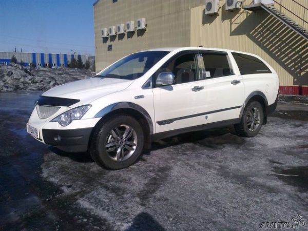 SsangYong Actyon Sports, 2010 год, 680 000 руб.