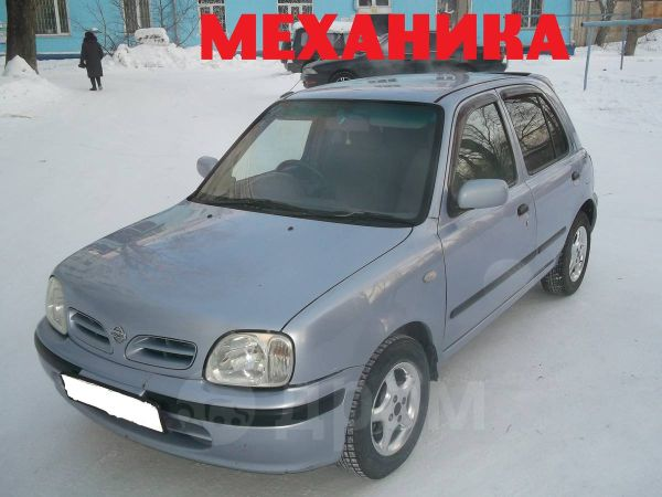 Nissan March, 2001 год, 160 000 руб.