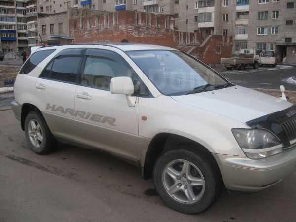 Toyota Harrier, 1998 год, 520 000 руб.