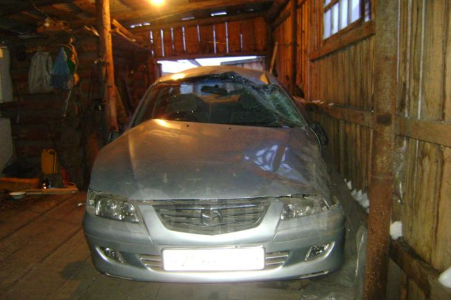 Mazda Capella, 2001 год, 87 000 руб.