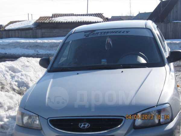 Hyundai Accent, 2002 год, 220 000 руб.