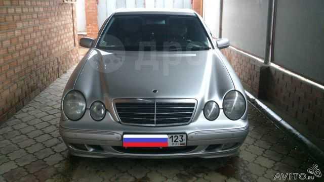 Mercedes-Benz E-Class, 2001 год, 460 000 руб.