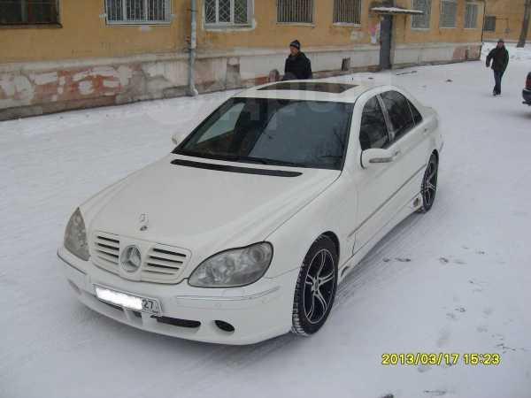 Mercedes-Benz S-Class, 2003 год, 730 000 руб.