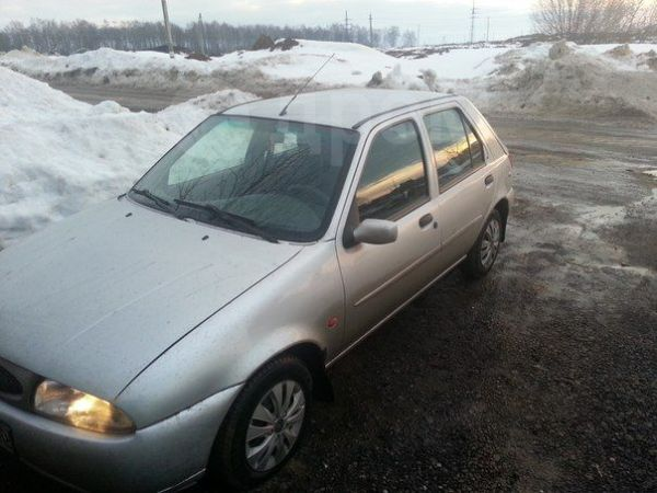 Ford Fiesta, 1999 год, 130 000 руб.