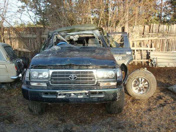 Toyota Land Cruiser, 1996 год, 450 000 руб.