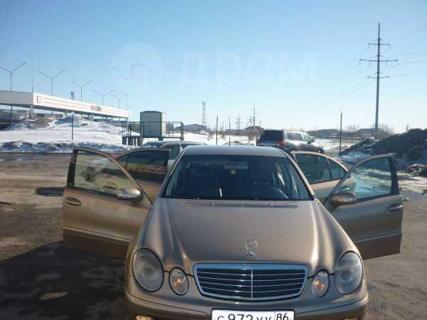 Mercedes-Benz E-Class, 2003 год, 595 000 руб.