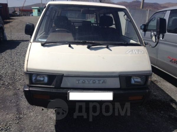 Toyota Town Ace, 1988 год, 49 000 руб.