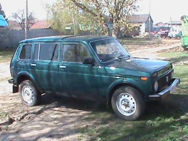 Лада 4x4 2131 Нива, 1999 год, 140 000 руб.