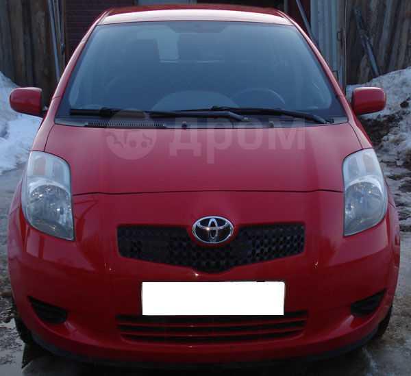 Toyota Yaris, 2007 год, 399 000 руб.