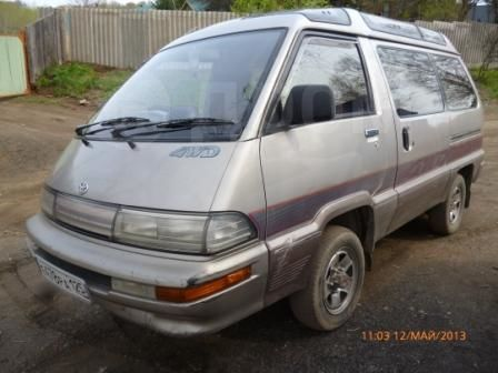 Toyota Master Ace Surf, 1991 год, 155 000 руб.