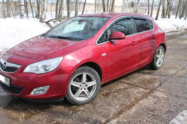 Opel Astra, 2010 год, 575 000 руб.