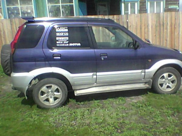 Daihatsu Terios, 1997 год, 285 000 руб.