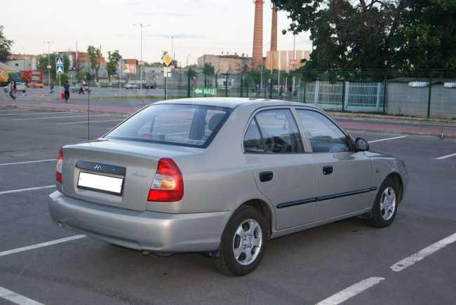 Hyundai Accent, 2008 год, 244 999 руб.
