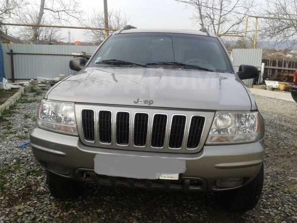 Jeep Grand Cherokee, 2001 год, 220 000 руб.