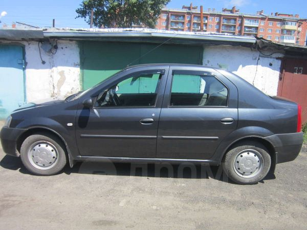 Renault Logan, 2008 год, 290 000 руб.