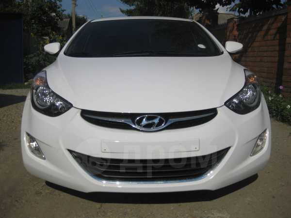 Hyundai Avante, 2012 год, 725 000 руб.