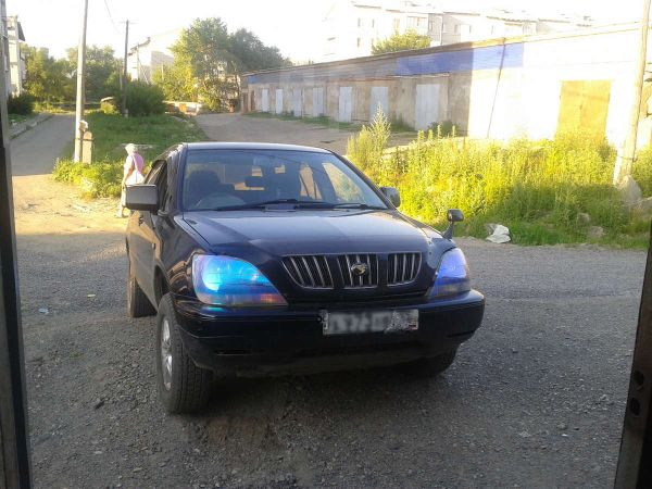 Toyota Harrier, 1998 год, 430 000 руб.