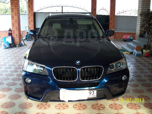 BMW X3, 2011 год, 1 450 000 руб.