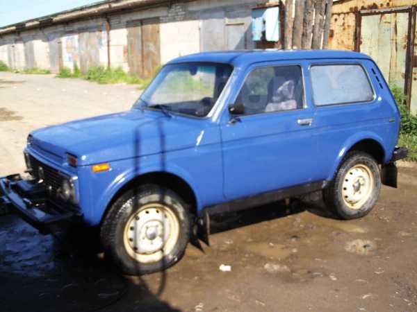 Лада 4x4 2121 Нива, 2002 год, 170 000 руб.