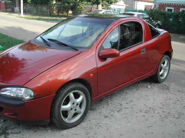 Opel Tigra, 1995 год, 135 000 руб.