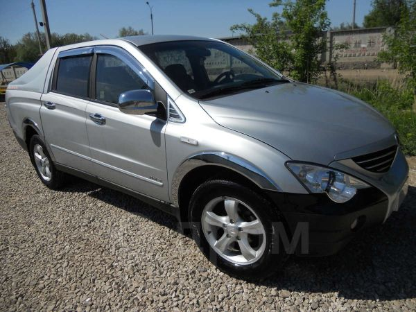 SsangYong Actyon Sports, 2006 год, 500 000 руб.