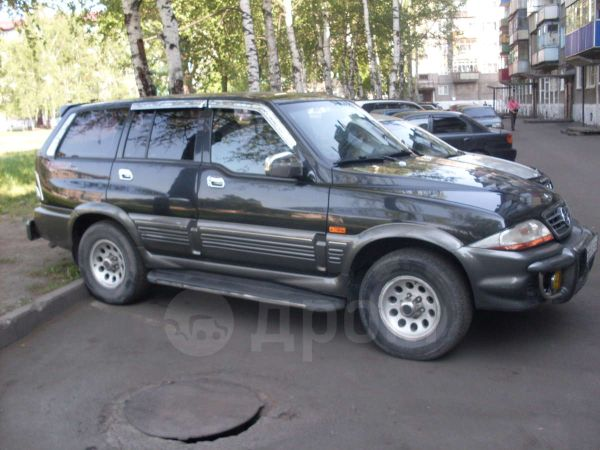 SsangYong Musso, 2002 год, 430 000 руб.