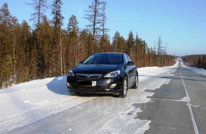 Opel Astra, 2011 год, 750 000 руб.