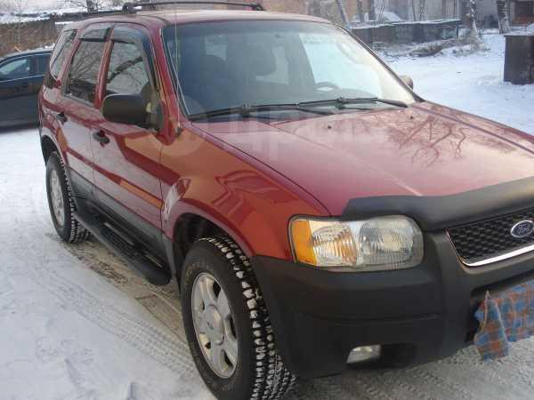 Ford Escape, 2003 год, 490 000 руб.