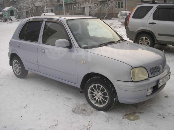 Nissan March, 2001 год, 168 000 руб.