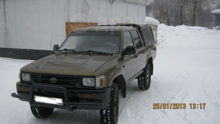 Toyota Hilux Pick Up, 1993 год, 350 000 руб.