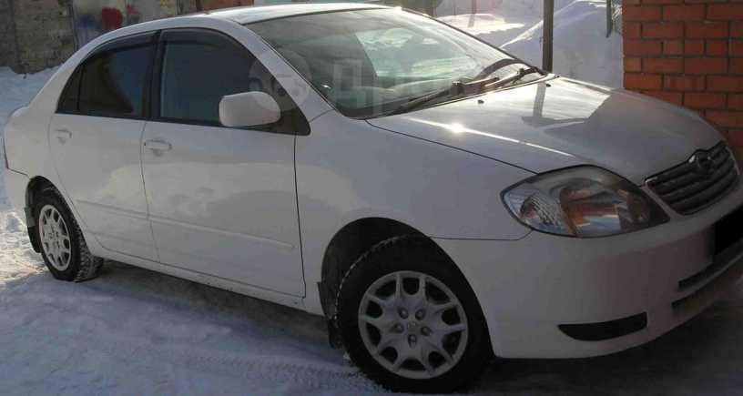 Toyota Corolla, 2003 год, 303 000 руб.