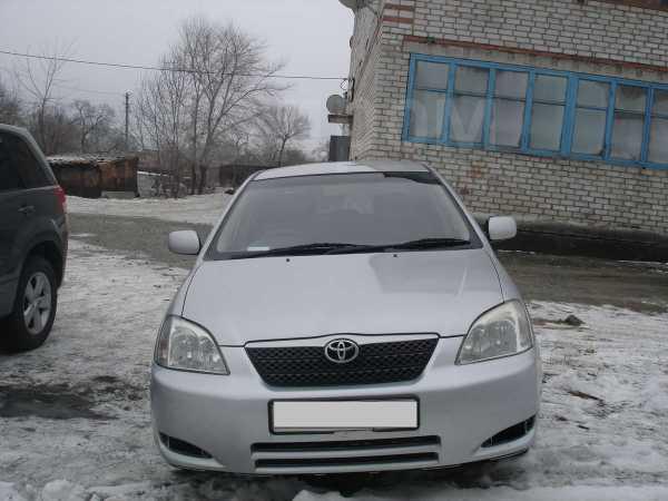 Toyota Corolla Runx, 2002 год, 289 000 руб.