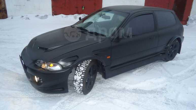 Honda Civic, 1991 год, 200 000 руб.