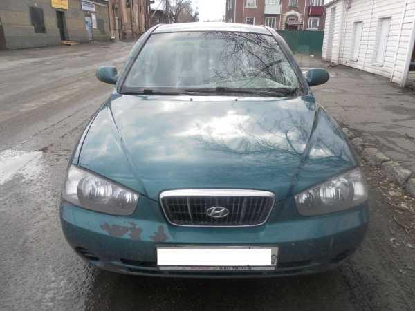 Hyundai Elantra, 2001 год, 280 000 руб.