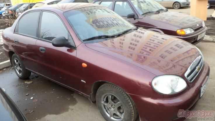 Chevrolet Lanos, 2007 год, 195 000 руб.
