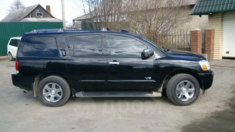 Nissan Armada, 2007 год, 980 000 руб.