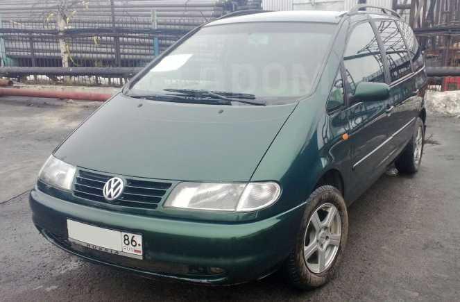 Volkswagen Sharan, 1999 год, 290 000 руб.
