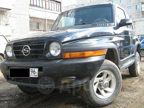 SsangYong Korando, 2002 год, 350 000 руб.