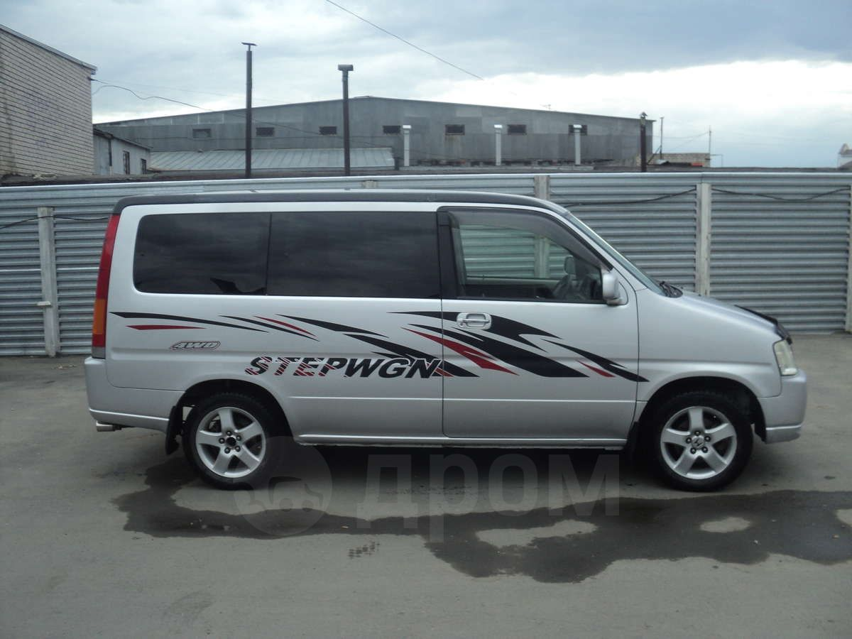 Купить Хонда Стэпвэгон 2000 года в Барнауле, руль правый ...